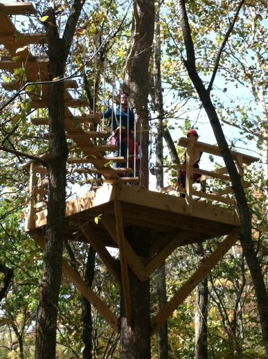 Zip Chicago, suspension bridges, zip lines, canopy tours, safety standards